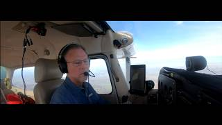 Tracy KTCY to Truckee KTRK California - C172K bouncy flight and lessons learned