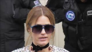 Yasmin Le Bon @ Paris 6 march 2018 Fashion Week show Chanel #PFW mars