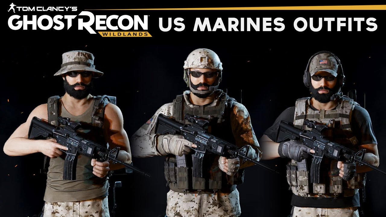 Ghost Recon Wildlands - How to make Marine Outfits (USMC Uniform)