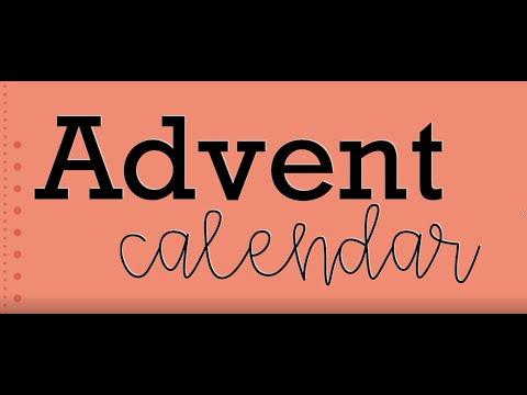 Shepherd of the Hills School Advent Calendar - Day 1