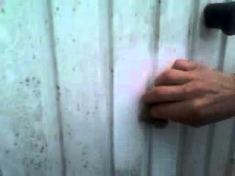 Nettoyage porte de garage youtube for Porte de garage