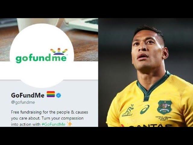Gofundme closes Israel Folau's fundraiser; shows anti-Christian bias
