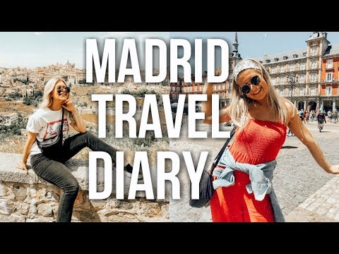 weekend in my life: madrid, spain