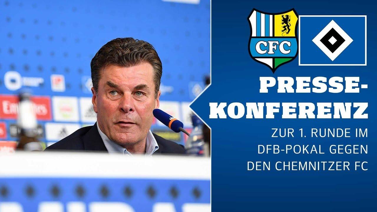 RELIVE: Die PK vor dem DFB-Pokal-Spiel gegen den Chemnitzer FC
