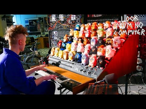 Man Redefines Horror By Building a Singing Furby Organ