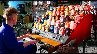 THE FURBY ORGAN, A MUSICAL INSTRUMENT MADE FROM FURBIES thumbnail