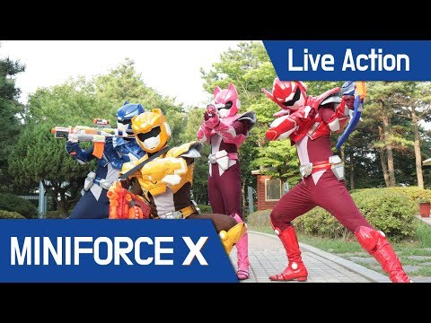[MiniForceX] Live Action