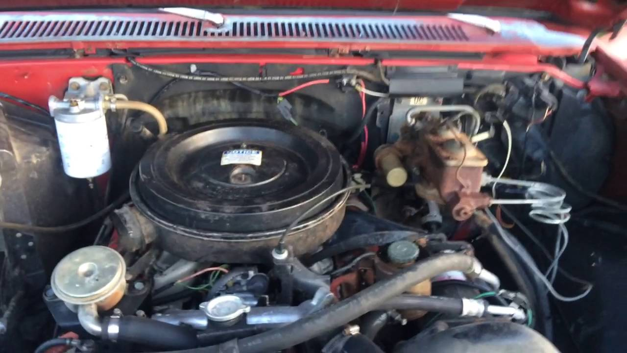 1982 Chevy C10 Long Bed 6 2 Detroit Diesel