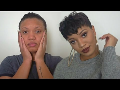 How I Mold & Style My Short Pixie Cut EASY!