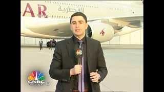 صلاح الدين مقراني القطرية للطيران تستلم اكبر طائرة في العالم A380