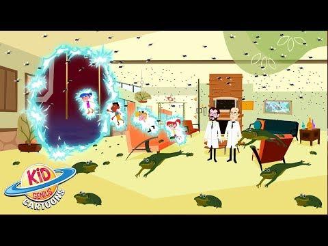 Shocking Discovery | Thomas Edison's Secret Lab Science Cartoons Season 3 Episode 3