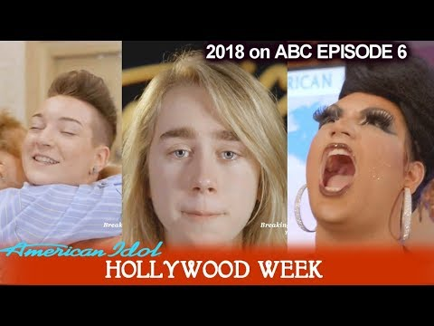 American Idol 2018 Hollywood Week Round 1 Tearful End for Griffin Tucker  & Happy for Ada Vox
