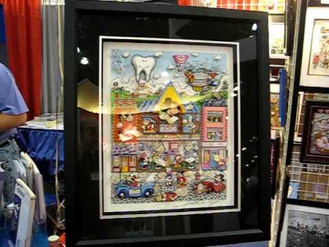 AMAZING ANIMATION GALLERY NEW YORK DENTAL 2009 - FAZZINO POP ART - CARTOON COLLECTIBLES