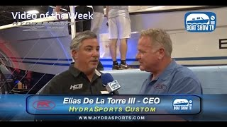 Hydrasports 57 Suenos Quad 627 Seven Marine On Boat Show TV