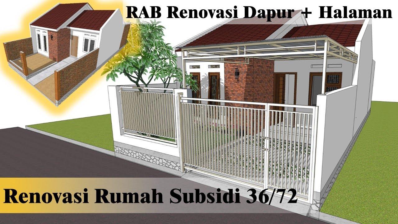 Renovasi Rumah Subsidi Type 36 72 Rab Cute766
