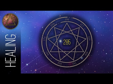 285 Hz Solfeggio Frequencies - Activate Qi Energy & Influence Energy Fields - Cognizione Quantica