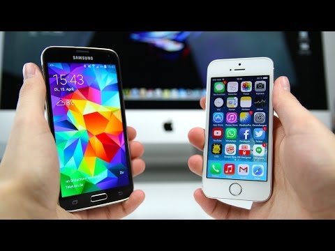 Samsung Galaxy S5 vs. Apple iPhone 5s (Deutsch) | SwagTab