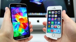 samsung galaxy s5 vs apple iphone 5s deutsch   swagtab