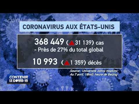 Bilan de la pandémie de COVID-19 en Chine et dans le monde
