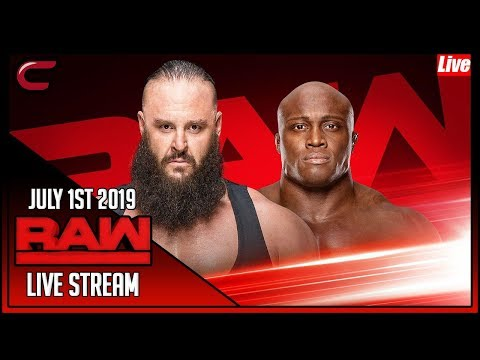 WWE RAW Full Show Live Stream July 1st 2019 Live Reaction Conman167