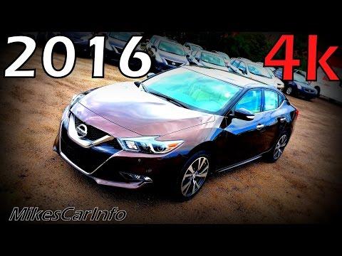 2016 Nissan Maxima SV - Ultimate In-Depth Look in 4K