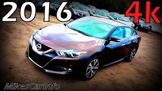 2016 Nissan Maxima SV - Ultimate In-Depth Look in 4K