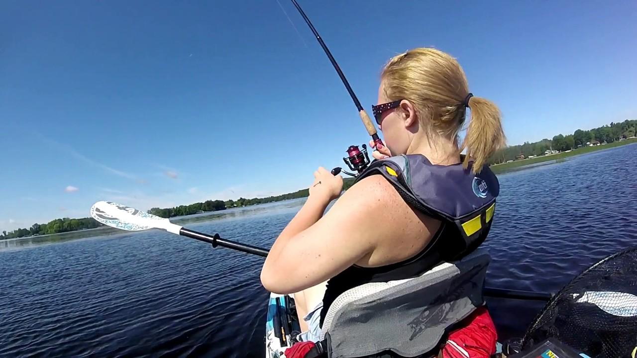Wisconsin kayak fishing club tournament 2017 ft the wife for Wisconsin fishing tournaments