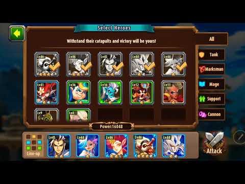 Magic rush heros gold trial difficult 3