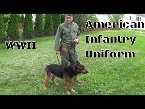 WWII American Infantry Uniform