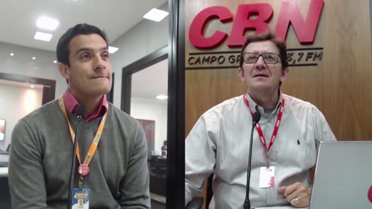 Entrevista CBN Campo Grande: Thiago Pires -