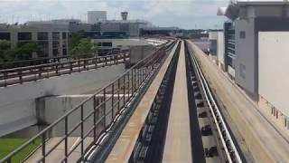 2018/09/24 【アメリカ 前面展望】 ヒューストン空港 ターミナリンク