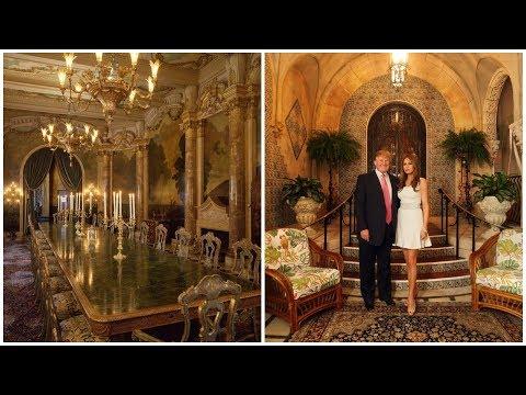 Inside Donald Trump's Mar a Lago Estate In Palm Beach
