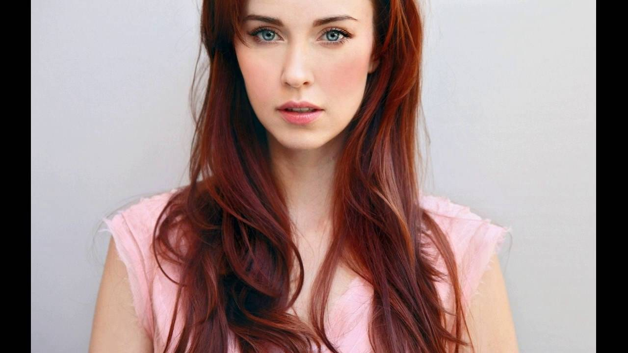 Best Red Hair Color Ideas For Fair Skin - YouTube