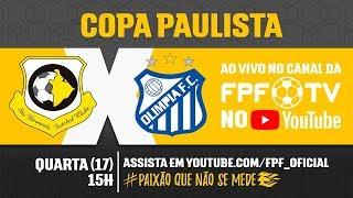 São Bernardo 3 x 1 Olímpia - Copa Paulista 2018