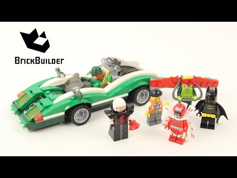 Lego Batman Movie The Riddler Riddle Racer 70903 - Lego Speed Build