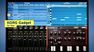 KORG Gadget for Mac   MUSIC PRODUCTION SOFTWARE