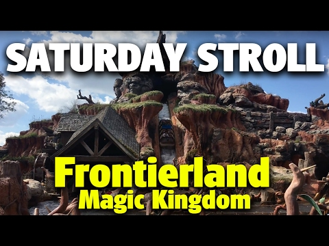Saturday Stroll around Frontierland | Magic Kingdom