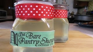 How to Make Virgin Coconut Oil