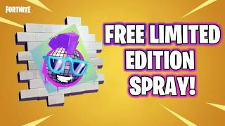 HOW TO GET FREE WALMART SPRAY- Fortnite Battle Royale