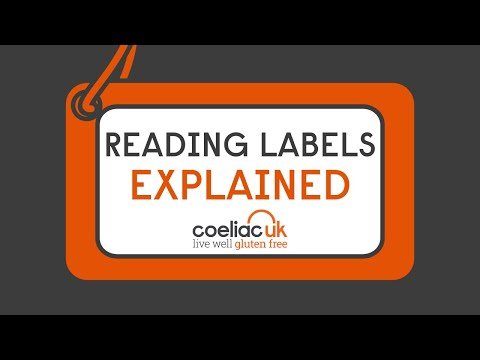 Gluten Free Diet Reading Labels