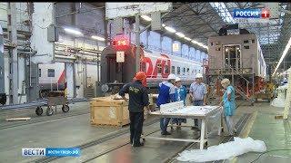 Тверской вагонзавод строит для РЖД плацкартные вагоны со всеми удобствами