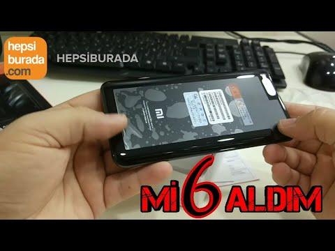Hepsiburada'dan Xiaomi Mi 6 aldım Kutu açılış videosu
