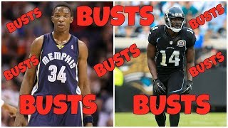 10 Players We ALL Knew Were Gonna Be BUSTS