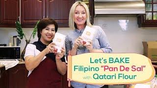 Filipino Pan De Sal recipe with Qatari Flour