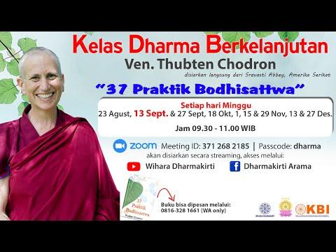 Kelas Dharma Berkelanjutan Ven Thubten Chodron 13 September 2020