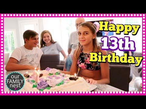 KARLI REESE'S 13TH BIRTHDAY PARTY!