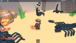 playing a roblox obby