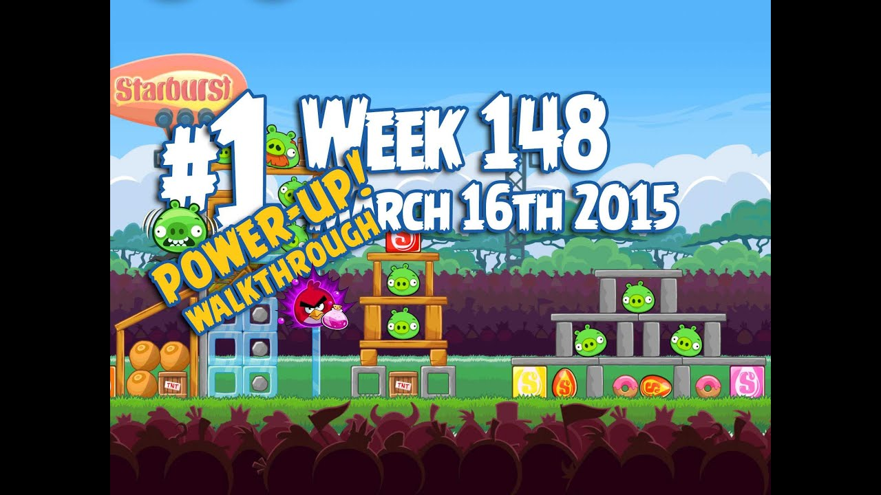Angry Birds Friends Tournament Level 1 Week 148 Power Up ...