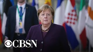 Germany faces succession crisis after Merkel's pick resigns