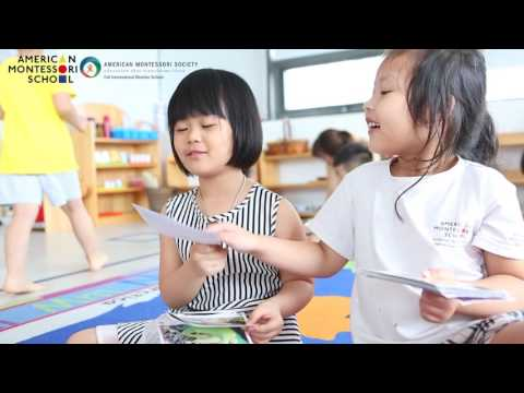 Living Montessori in American Montessori International School - Hanoi
